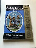 "Vintage Sept. 1941 Esquire ""The Magazine for Men"""