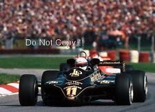 Elio De Angelis JPS Lotus 91 Winner Austrian Grand Prix 1982 Photograph 5