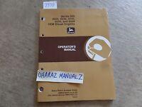 John Deere 3029 4039 4045 6059 6068 OEM Diesel Engine 300 Operator's Manual