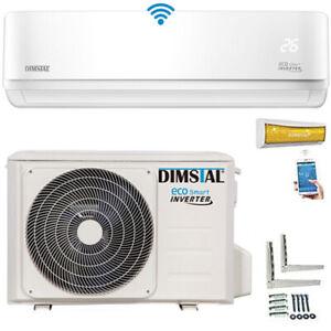 A++ Golden-Fin ECO Smart Inverter WiFi WLAN 9000btu Split Klimagerät Klimaanlage