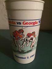 Florida vs Georgia 1987 32 Oz Plastic Souvenir Cup