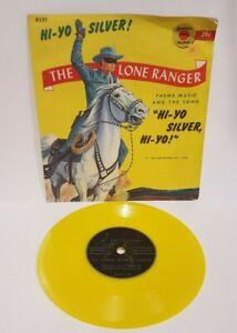 """1958 Little Golden Record The Lone Ranger Theme & Hi-Yo Silver, Hi-Yo 78 RPM 7"""""""