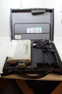 Samsonite suitcase with built in Kodak Diconix 150 plus printer black