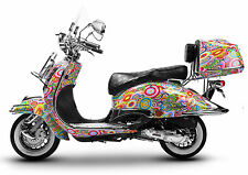 Retro Roller Mofa 25 45 KmH Motorroller 50 49 ccm Moped HIPPIE EASYCRUISER 2017