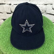 f1fd389431b43 Dallas Cowboys Boys Sz 6 3 8 Hat Navy Blue Fitted NFL New Era Ball