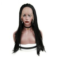 Lace Front Wigs Twist Braided Synthetic Hair For Women Cosplay Hairstyle Crochet