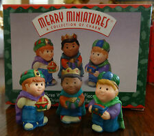 Hallmark Ornament Three Wee Kings Merry Miniatures Christmas Pageant Collection