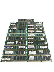 Lot of 21 512MB 256MB 128MB DDR PC1 RAM Desktop Memory Cards Job Lot Old Parts