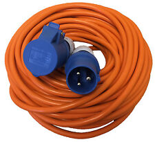 25 metre CARAVAN CAMPING ELECTRIC HOOK UP CABLE LEAD EXTENSIONS (2.5mm H/DUTY)
