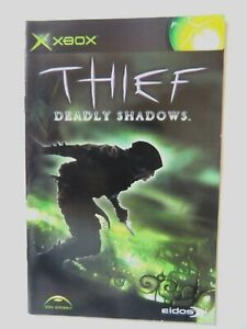55899 Instruction Booklet - Thief Deadly Shadows - Microsoft Xbox (2004)