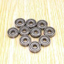 10pcs V625ZZ 625VV V Groove Guide Pulley Rail Ball Bearings Metal (5mm*16mm*5mm)