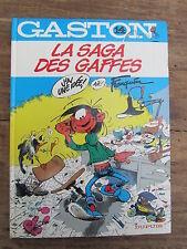 BD GASTON LAGAFFE LA SAGA DES GAFFES 1982