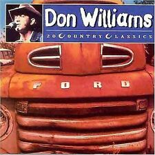 DON WILLIAMS 20 Country Classics CD BRAND NEW
