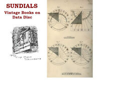 Sundials Collection of 15 Vintage Sundial Books on Data Disc History & Science