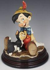 G. Armani #464C Pinocchio & Figaro Brand Nib Disney Cat Boy $190 Off Free Shippi
