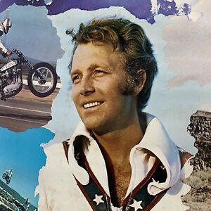 "Original 1974 EVEL KNIEVEL COLLAGE 22x34"" Poster"