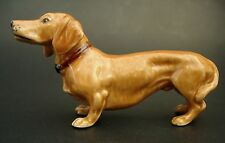 Ceramic DACHSHUND DOG Curio Display Ornament Porcelain Pet Dog Ceramic Animal