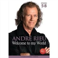 Andre Rieu Welcome to My World Episodes 5 - 8 DVD Region 0