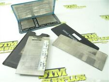 LOT OF 3 SURFACE ROUGHNESS STANDARDS FOWLER 52-720-000 + PDR