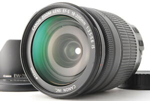 Opt MINT/ Canon EF-S 18-200mm F3.5-5.6 IS Lens Film Camera from Japan #0983