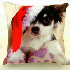 DAISY CHRISTMAS SCATTER CUSHION ( 18 X 18 INCHES )