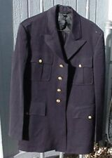 U S Military Surplus Coat 1960's Army Officers Dress Blue