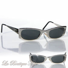 Vintage ted lapidus made in France Lunettes de soleil ted 22 col 37 Chrome sunglasses