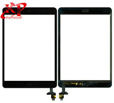 Black Touch Screen Glass Digitizer Replacement+Home Button+ IC for iPad Mini 1 2
