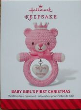 Hallmark - 2014 - Baby Girl's First Christman - NEW