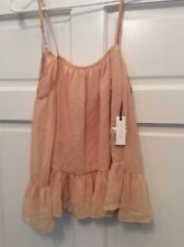 Lovers And Friends Shirt Blouse Spaghetti Strap Tank Top Size S Box S