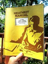 Heathkit Manual 10 Mhz Dual Trace Oscilloscope Model Io 4500 Heath Co Michigan
