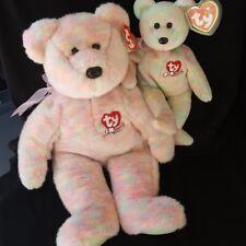 Ty Beanie Baby Celebrate Bear Beanie Buddy Celebrate Bear Mwmt Retired Lot 2
