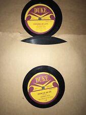 78 RPM  Duke 132. 136 Johnny Ace Pledging My Love / No Money  Never Let Me Go