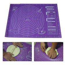 Large Non Stick Silicone Sheet Dough Fondant Rolling Mat Baking Pastry Icing Mat