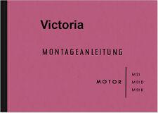 Victoria M 51, M 51 D M 51 K Reparaturanleitung Werkstatthandbuch Motor DKW