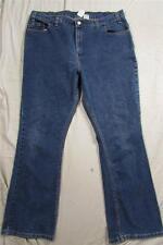 Levi's 515 Low Rise Boot Cut Womens Dark Denim Jeans Measure 38x30