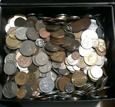 Lot of 30 Foreign World Coins No Duplicates No Junk Great Mix from all around!