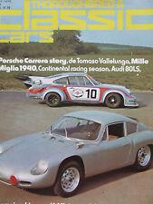 THOROUGHBRED CLASSIC CARS MAY 1975 PORSCHE TOMASO VALLELUNGA MILLE MIGLIA AUDI 8