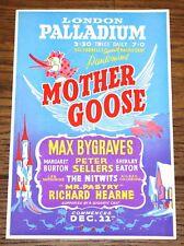 MOTHER GOOSE PALLADIUM HANDBILL FLYER PETER SELLERS MR PASTRY SHIRLEY EATON