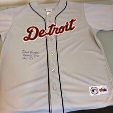 Rare Ernie Harwell Signed & Inscribed Detroit Tigers Jersey Jsa Coa