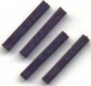 4 HO TIES/ Tiejector for GILBERT HO/AMERICAN FLYER HO TRAINS PARTS