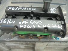 FORD FIESTA MK6 FOCUS >55 1600 PETROL 16V CYLINDER HEAD  02 TO 08 CAM AND VALVES