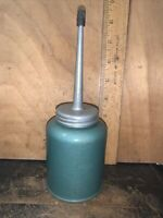 Vintage Eagle Oil Can Oiler Green Color Unique! Made in USA.