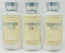 3 Bath & Body Works Champagne Toast Pop-fizz Clink Shea & Vitamin E Body Lotion