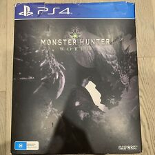 Monster Hunter World PS4 Collector's Edition