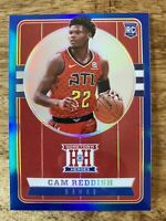 CAM REDDISH *2019-20 Hometown Heroes /99 Blue Refractor Hawks SP Rookie RC