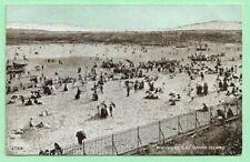 "[20749] Glamorgan Postcard Whitmore Bay Barry Island ""Lots Of Activity"""