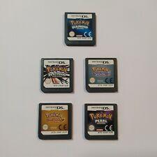 Nintendo DS Pokemon Platino, SoulSilver, Perla, Heartgold e Diamante