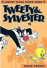 Looney Tunes Super Stars: Tweety  Sylvester - Feline Fwenzy (Fullscreen DVD) NEW