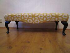 Large Vintage Upholstered Footstool